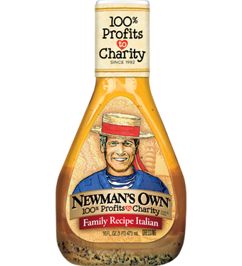 Newman's Own Organic Italian salad dressing