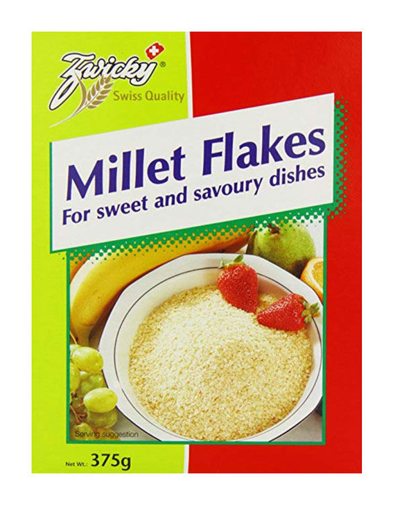 Zwicky organic millet flakes